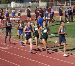 track boys running