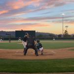 baseball players playing
