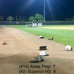 Arete Prep beats Superior Prep 7 to 6