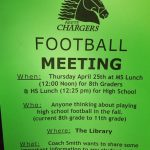 '19-20 Football Info Meeting 4/25