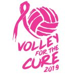 volley for the cure 2019 banner