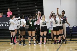 volleyball girls cheer