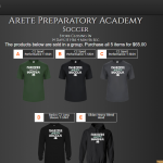 Arete Preparatory Academy merch