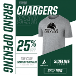 BSN Sideline Store Now Open- Shop Charger Gear!
