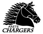 arete chargers logo