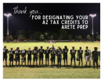 AZ State Tax Credits: Thank you for Supporting Arete Athletics!