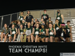 Varsity Track and Field Wins Phoenix Christian Invite