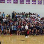 Magnificat High School Girls Varsity Volleyball beat St. Joseph Academy 3-1