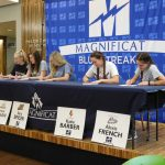Magnificat Basketball and Softball Has 5 Seniors Sign College Letters Of Commitment