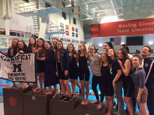 Magnificat Swimming & Diving Wins District Championship