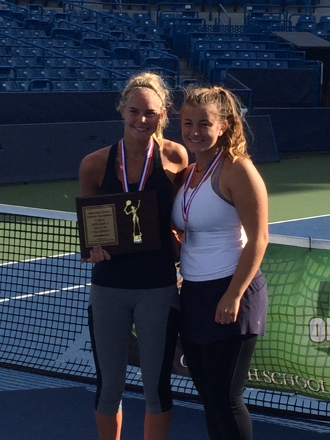 Anna Roggenburk Wins State Championship; Olivia Rondini Finishes Third