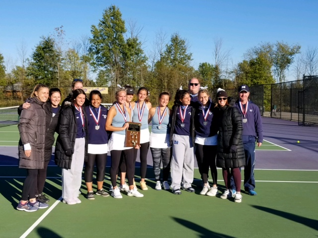 Blue Streak Tennis Finishes As State Runner Up