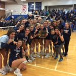 Volleyball Captures District Championship With 3-2 Win Over Saint Joseph Academy