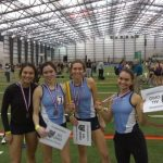 Blue Streaks Finish Strong At Indoor Track & Field State Meet; 4 x 800 Relay Qualifies For Nationals
