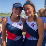 Basinski & Carroll Shine At US Rowing Olympic Development Program