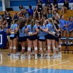 Varsity Volleyball Defeats Toledo Notre Dame 3-0 To Open Season
