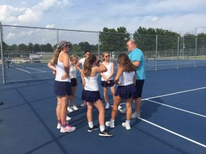 Junior Varsity Tennis 2019