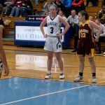 Varsity Basketball Handles Walsh Jesuit 82-69; Clare Chambers Scores 32 Points