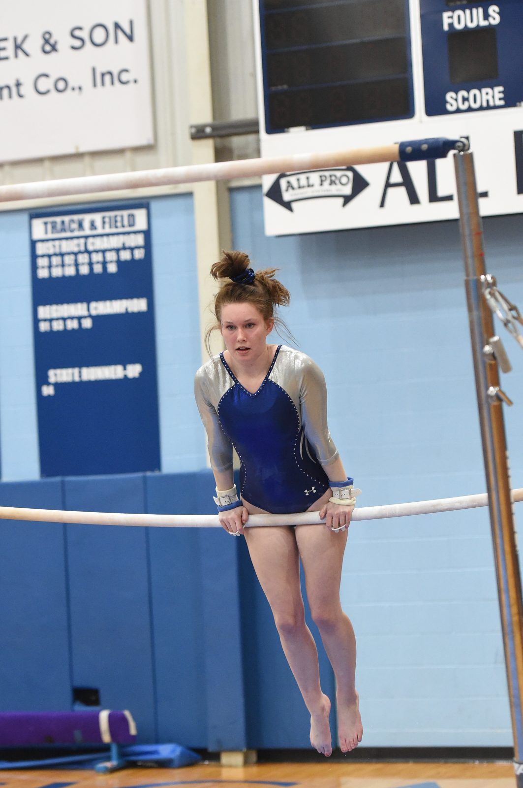 A Senior Night Victory for Gymnastics