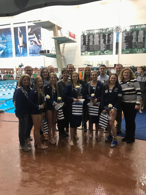 Swimming & Diving Falls To Villa Maria Academy