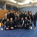 Gymnastics takes 1st place at Catholic Cup