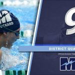 Swimming Qualifies 9 To District Meet
