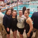Swimming Finishes Season At State Meet; Two Relays Advance To Finals