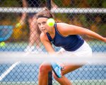 Tennis Advances 3 To State Tournament On First Day Of District Tournament