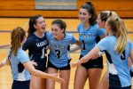 Varsity Volleyball Gets Big Road Win Over NDCL 3-1