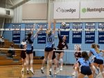 Varsity Volleyball Defeats Walsh Jesuit 3-0 For 13th Straight Win