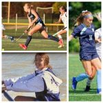 Three Blue Streaks Sign Letters Of Commitment For Athletics