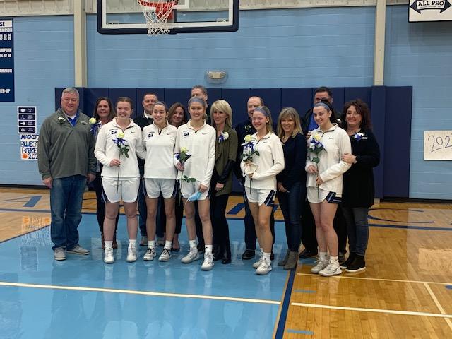 Varsity Basketball Gets Victory On Senior Night 51-36