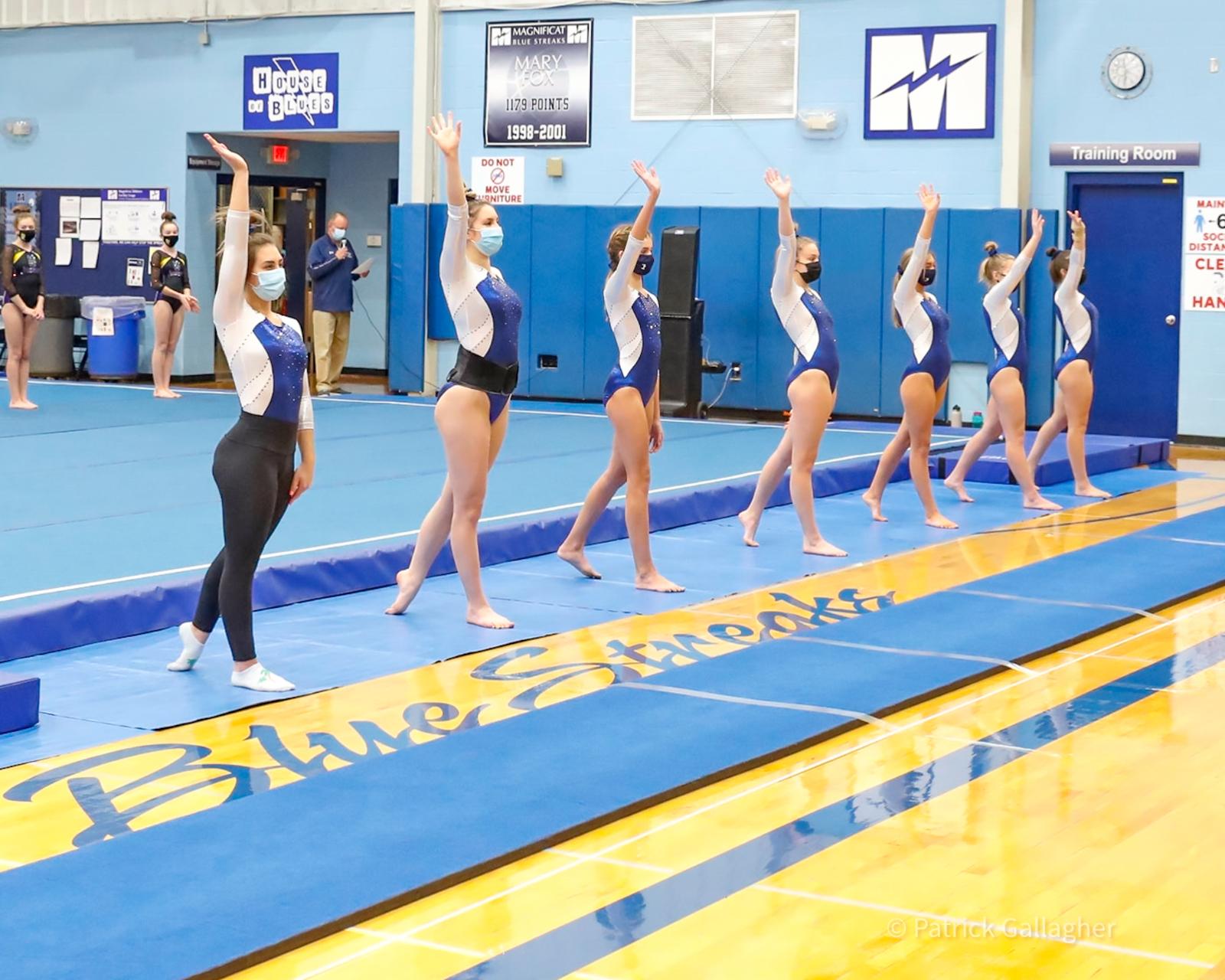 Varsity Gymnastics – Senior Night