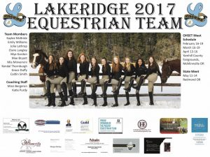 2017 Equestrian Team