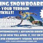 Spring Snowboarding Opportunities