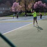 Lakeridge High School Girls Varsity Tennis beat Glencoe High School 7-1