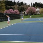 Lakeridge High School Girls Varsity Tennis beat Newberg High School 5-3