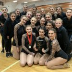Girls Varsity Dance places 1st place in small jazz at Mt. Hood Dance Festival