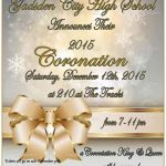 CORONATION TICKETS GO ON SALE MONDAY, NOVEMBER 30th