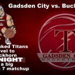 The TITANS travel to Buckhorn for 3rd night of AREA play