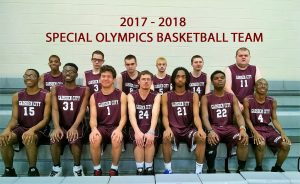 Gadsden City Titan Special Olympic Varsity Basketball Team