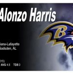 ALONZO HARRIS, From Packer to Raven
