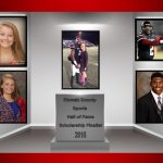 ETOWAH COUNTY SPORTS HALL OF FAME SCHOLARSHIP FINALIST FROM GCHS