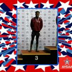 Jaylon Williams finishes 3rd in STATE High Jump