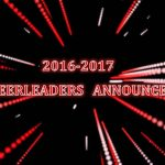 2016-17 SIDELINE AND COMPETITION CHEERLEADERS ANNOUNCED