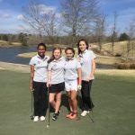 Titan Girls at Yellow Jacket Invitational Golf Tournament