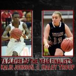 Troup, Johnson; Player Of The Year Finalists