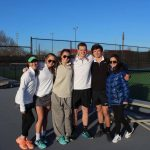 Boys and Girls Tennis get Big WINS