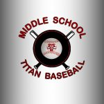 Titan Middle School Baseball splits with Glencoe