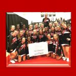 Titan Competition Cheer had a good run at first competition of the season